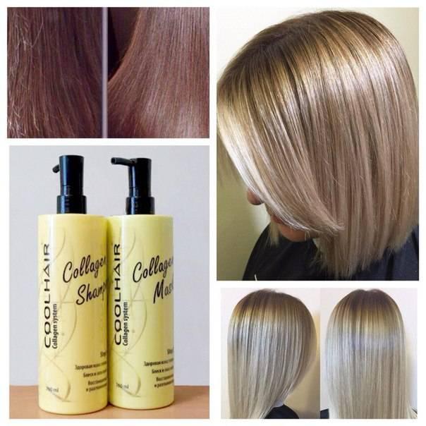 Коллаген для волос: последствия процедуры, отзывы о восстановлении, фото