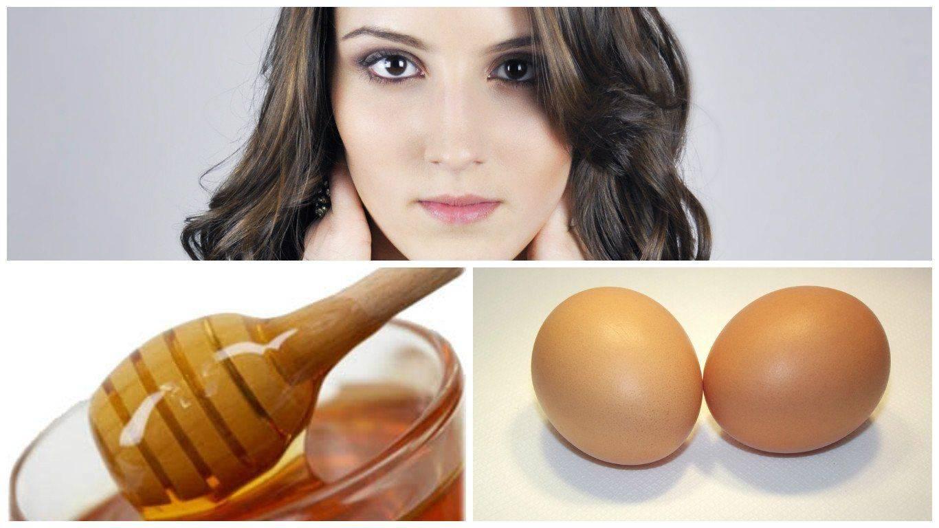 Маска с медом и яйцом для роста волос