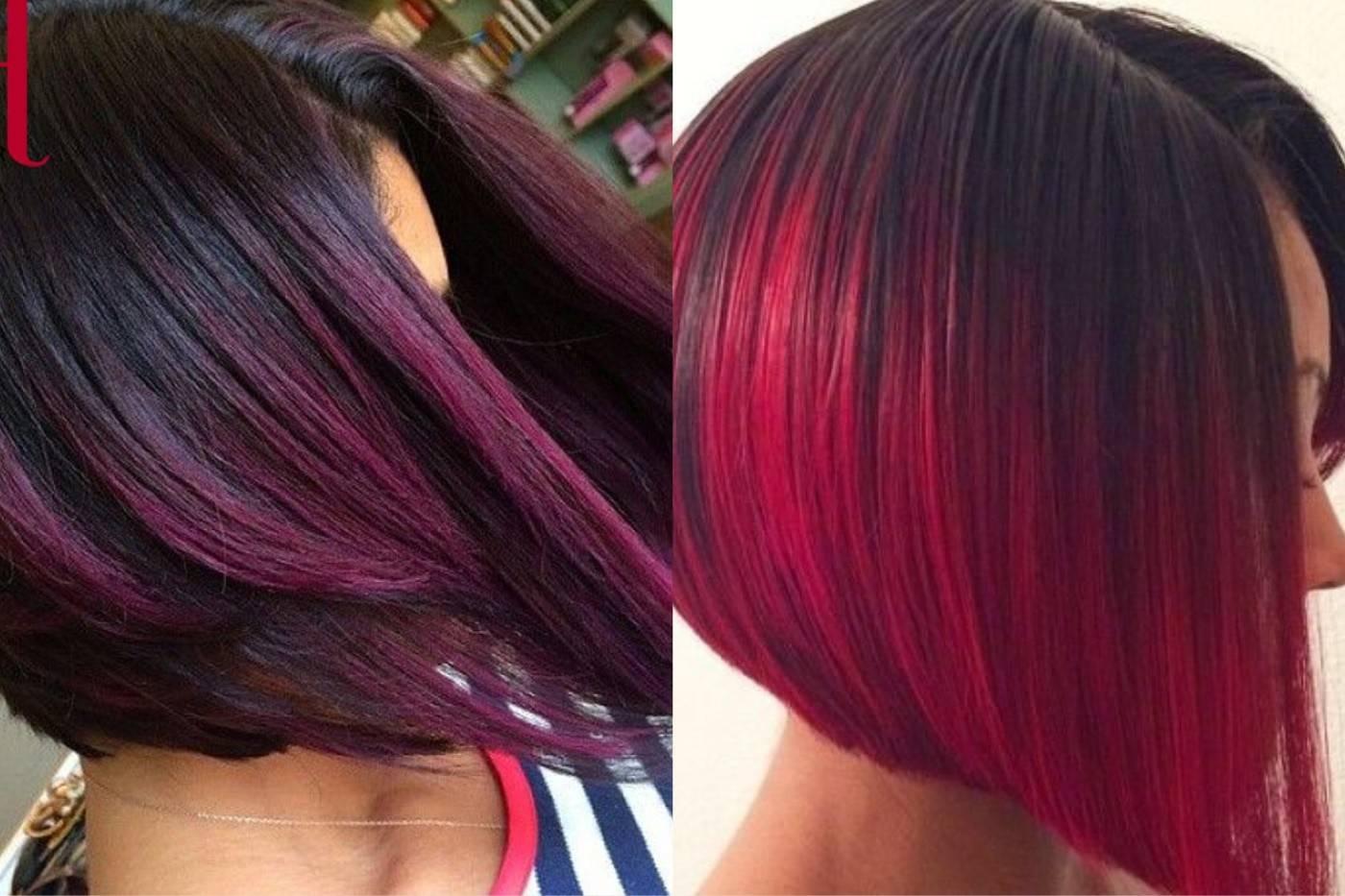 Окрашивание волос амбре (омбре) — фото и технология. омбре на русые волосы — как правильно подобрать цвет и получить восхитительный результат