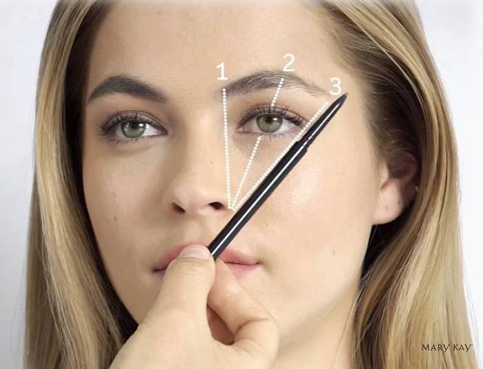 Как пользоваться тенями для бровей: пошаговая инструкция, фото