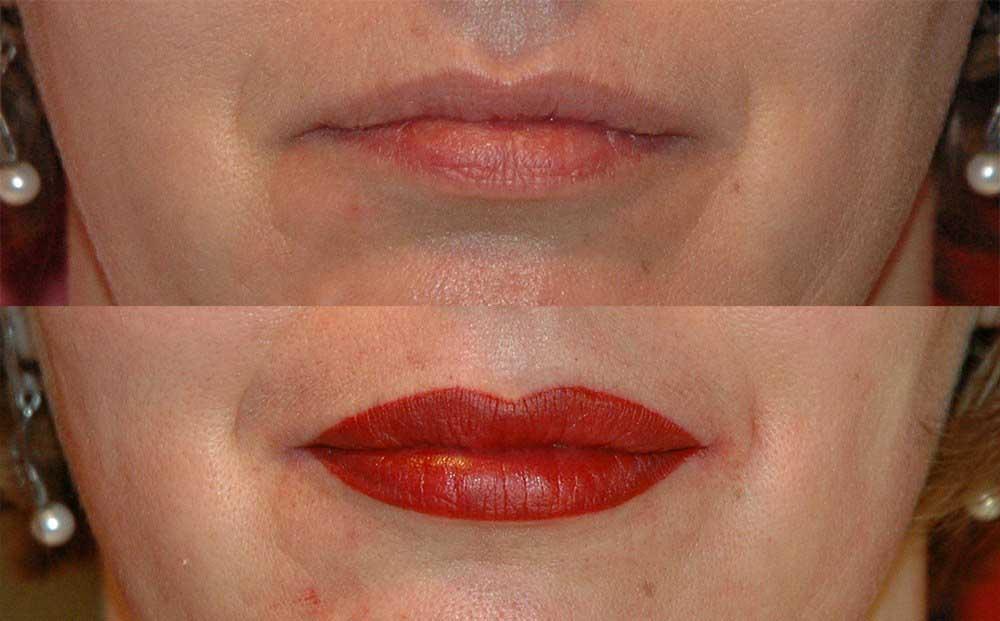 Стоит ли делать татуаж губ: за и против процедуры