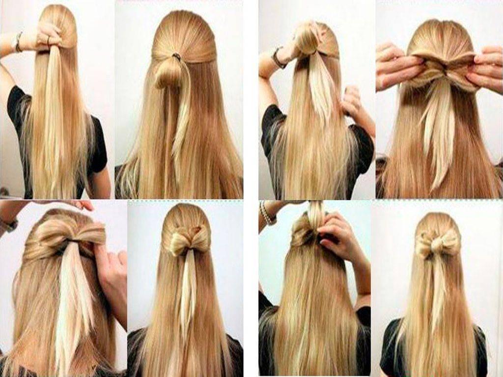 Бант из волос пошагово: 7 простых шагов к красивой прическе