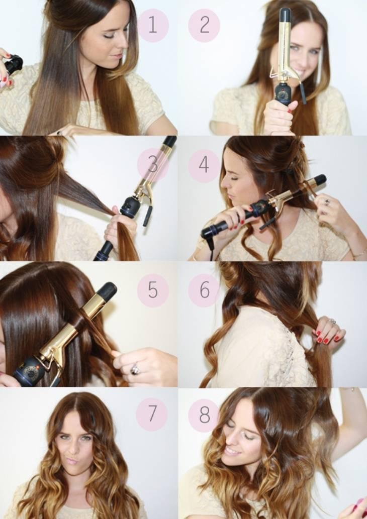 Пошаговая инструкция по тому, как накрутить короткие волосы на плойку