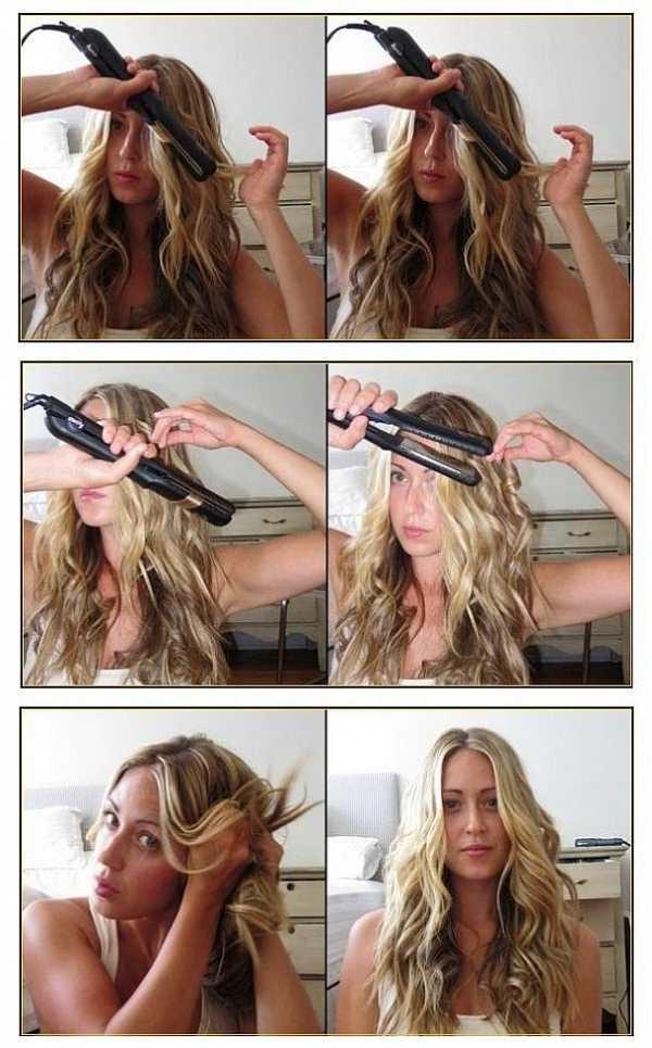 Как сделать кудри на средние волосы в домашних условиях?