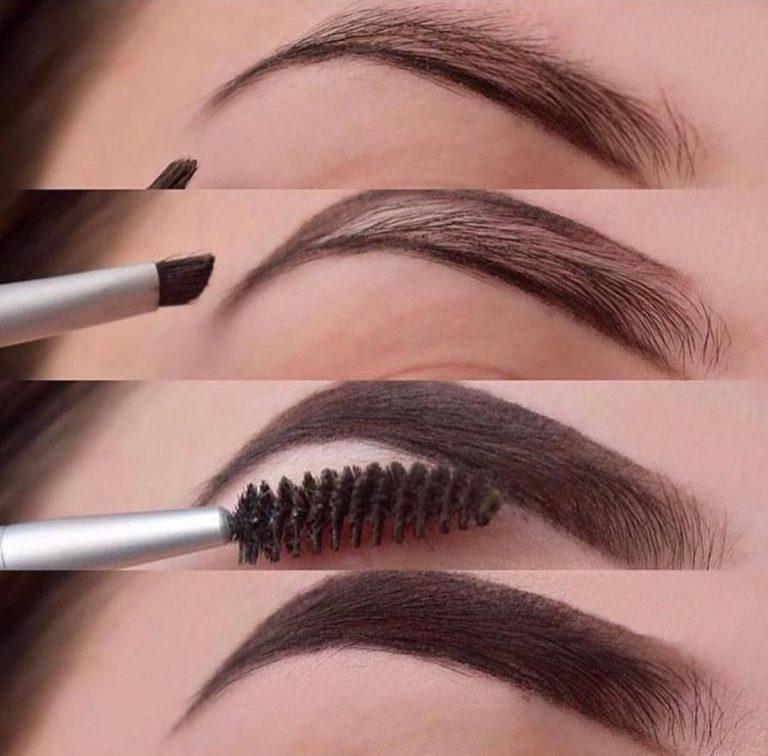 Как красиво и правильно рисовать брови с отзывами, видео и фото