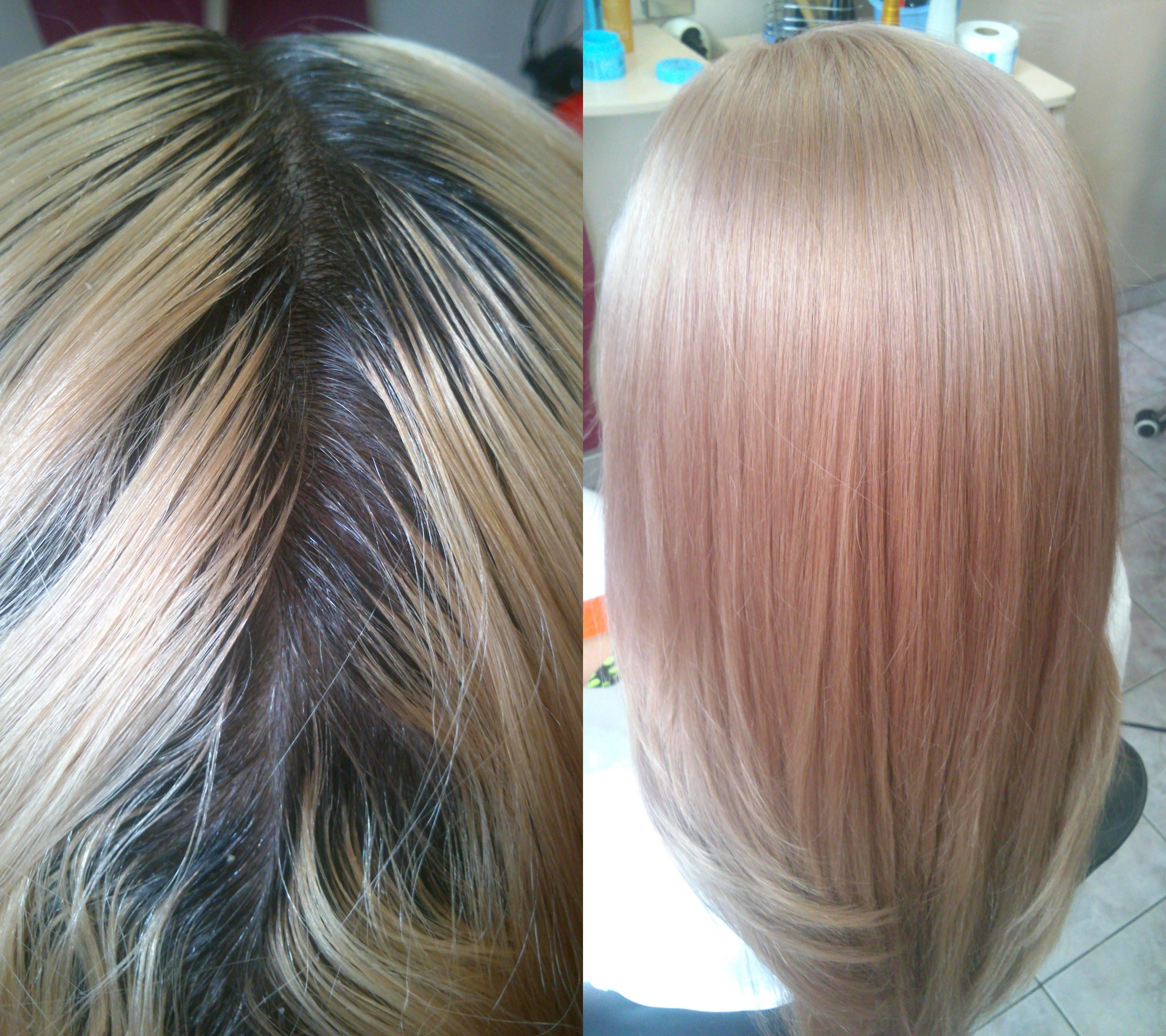Тонирование волос после мелирования от желтизны: чем и как сделать в домашних условиях