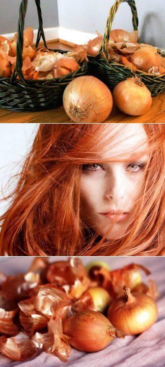Рецепты и способы применения луковой шелухи для волос