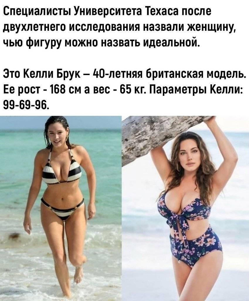 Келли брук идеальная фигура а не кости. научно доказано: именно так выглядит идеальное женское тело