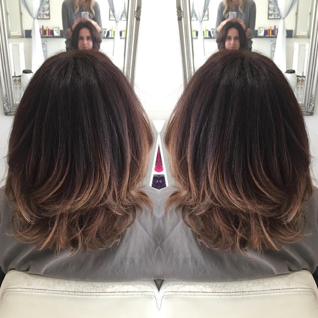 Окрашивание шатуш на короткие волосы с фото и видео