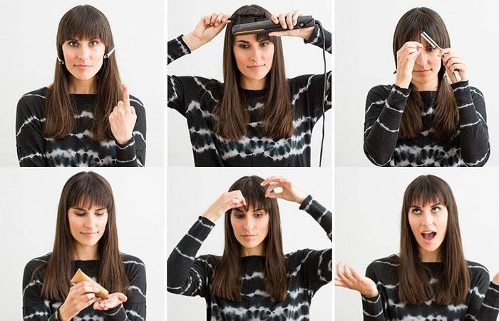 Как подстричь чёлку правильно и красиво?