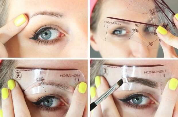 Техника и виды макияжа бровей с фото и видео