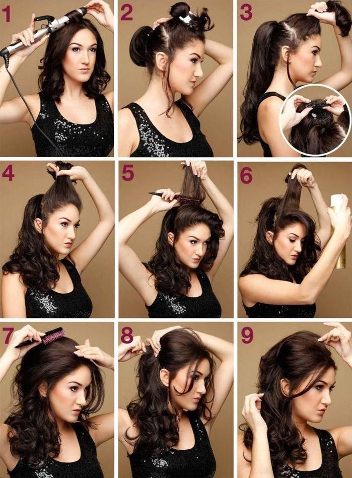 Греческие прически для длинных волос