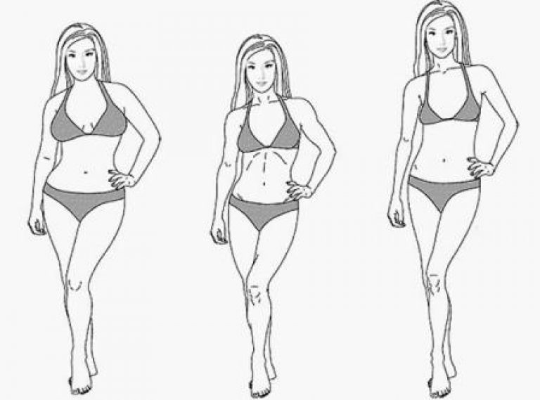 Какие бывают типы телосложения у женщин