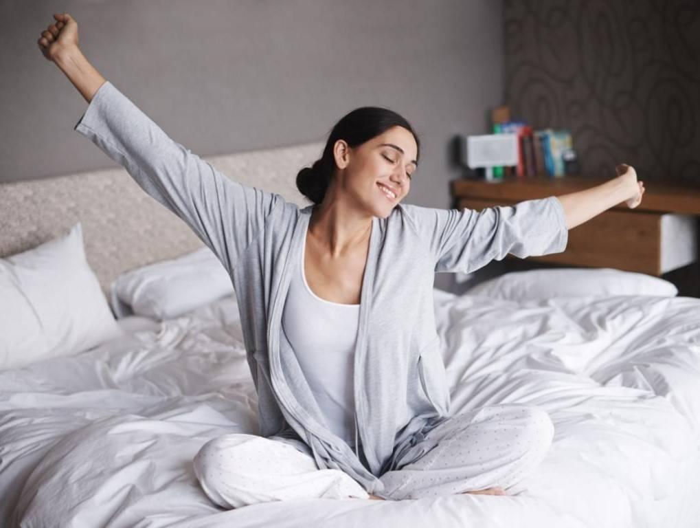 Что делать, чтобы быть бодрым утром после сна?   buzunov.ru
