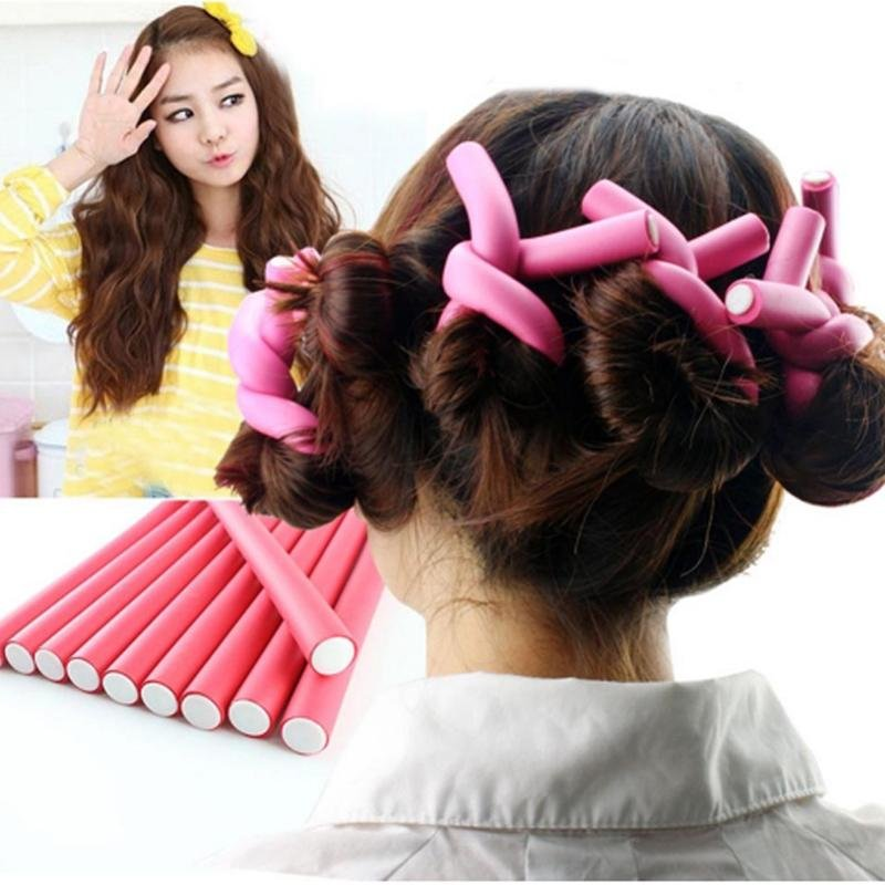 Как накрутить волосы на бигуди: виды, правила применения и меры предосторожности. пользуемся длинными бигуди правильно