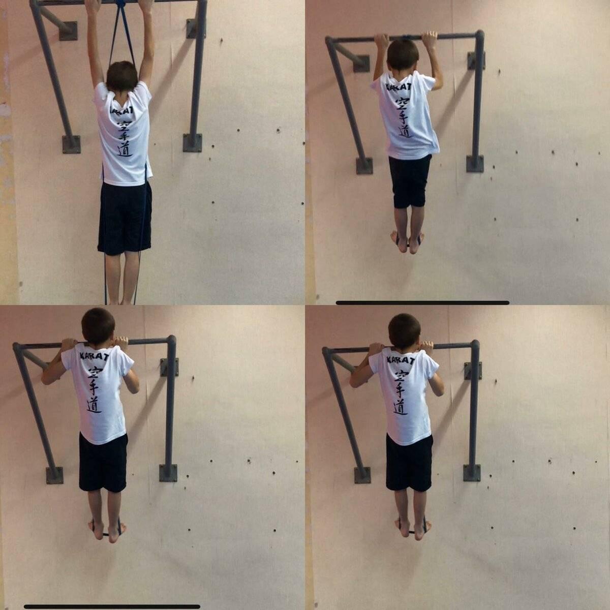 Как научить ребенка подтягиваться? задание на лето для пап. упражнения для ребенка: от отжиманий от пола к подтягиваниям на турнике
