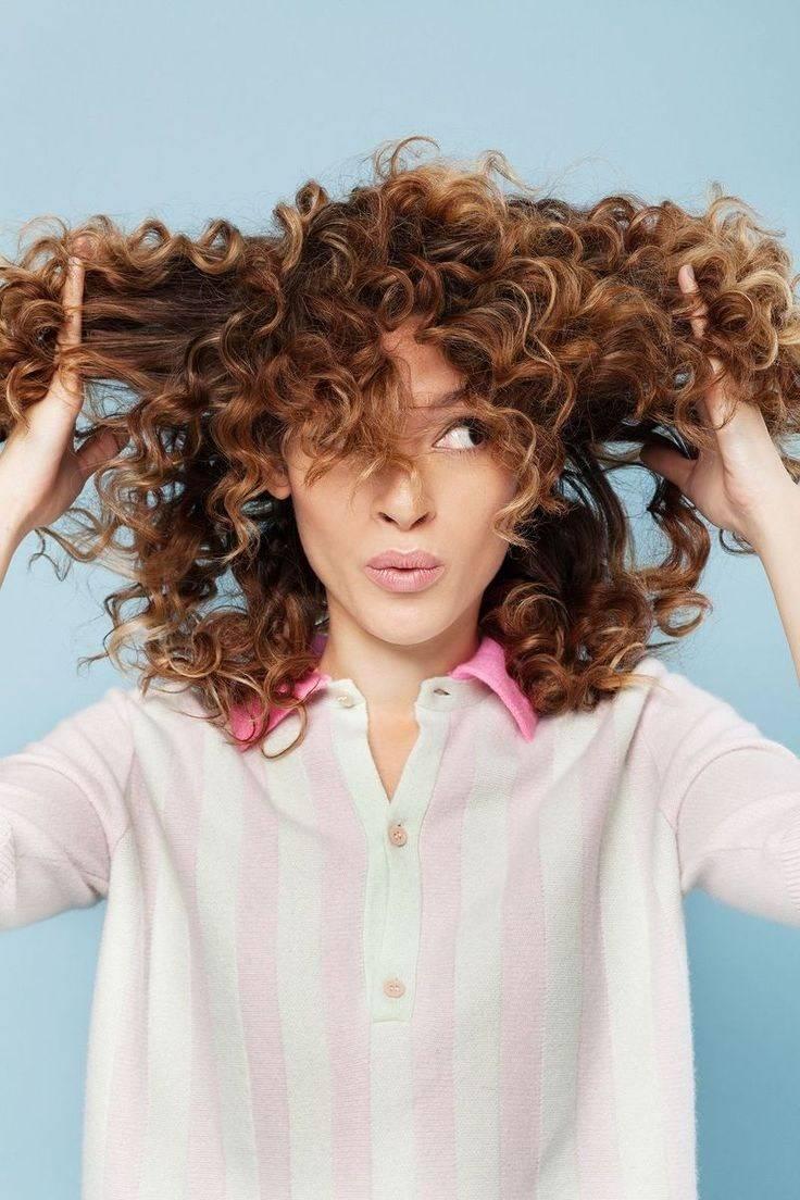 Сухие вьющиеся, волнистые и кудрявые волосы – правила ухода