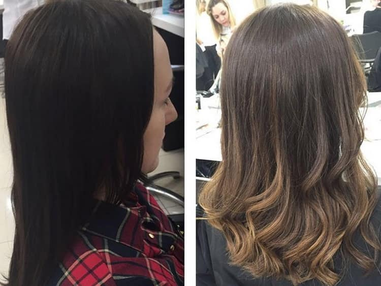 Техники мелирования на средние волосы. советы стилистов, как выглядеть неотразимо