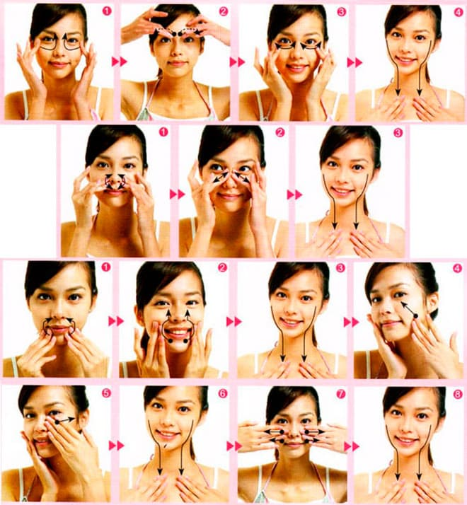 Японский массаж лица: стань на 10 лет моложе