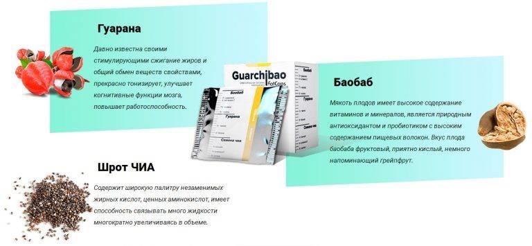 Guarchibao для похудения: реальные отзывы, цена, инструкция