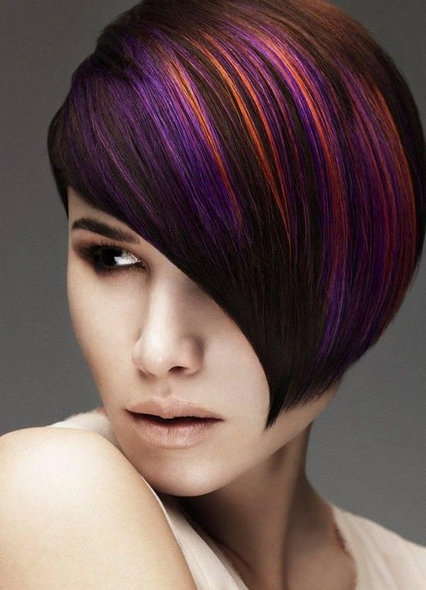 Колорирование волос – 85 трендовых вариантов, которые улучшат ваш образ