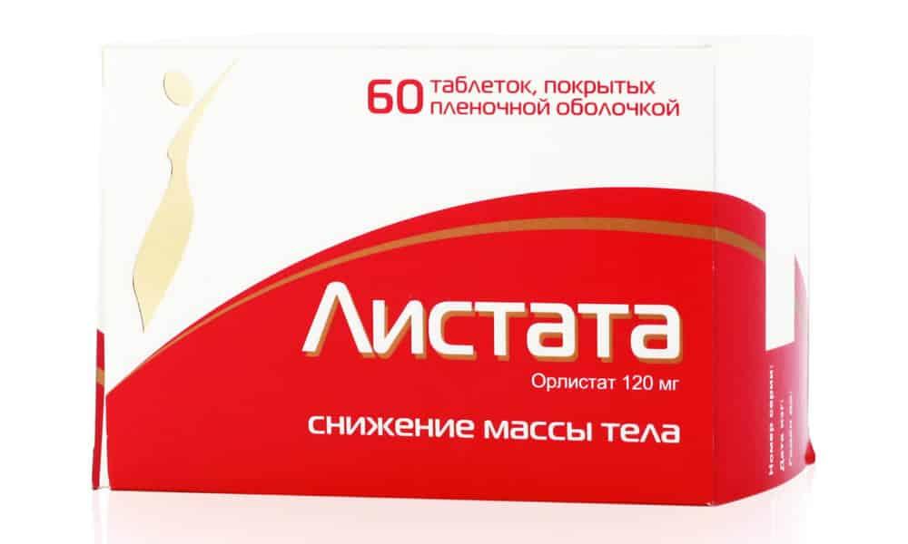 Таблетки для похудения «листата» и «листата мини» – состав, инструкция, цена, отзывы