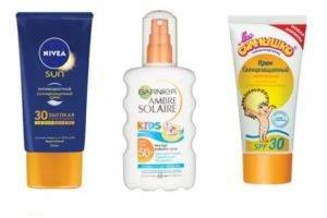 Как выбрать солнцезащитное средство для детей?