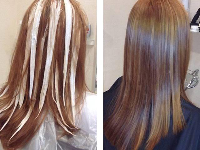 Колорирование на русых волосах: основные принципы и советы