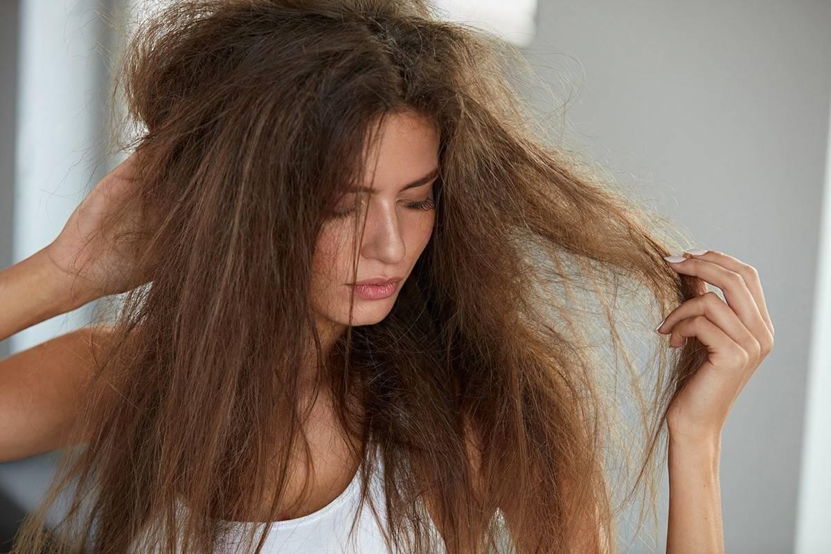 Как вернуть силу и блеск тусклым поврежденным волосам - kosyvolosy
