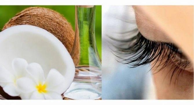 Масло кокосовое для ресниц: применение, рецепты, отзывы и эффективность