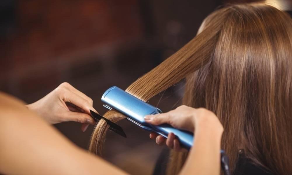 Можно ли выпрямлять влажные волосы утюжком?