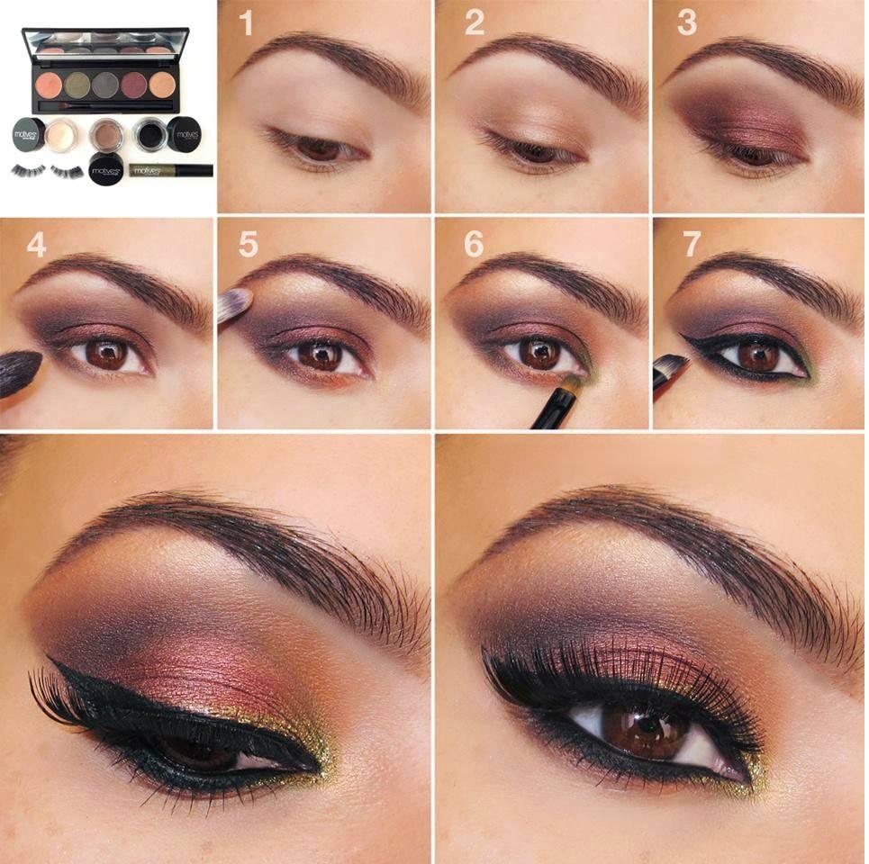 Как правильно наносить тени на глаза - 44 фото-примера