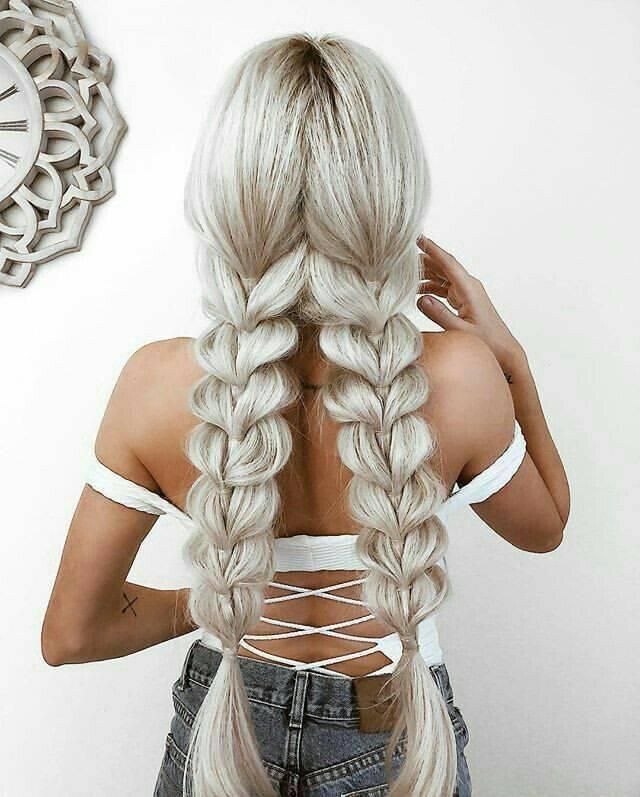 Плетение кос из 5 прядей