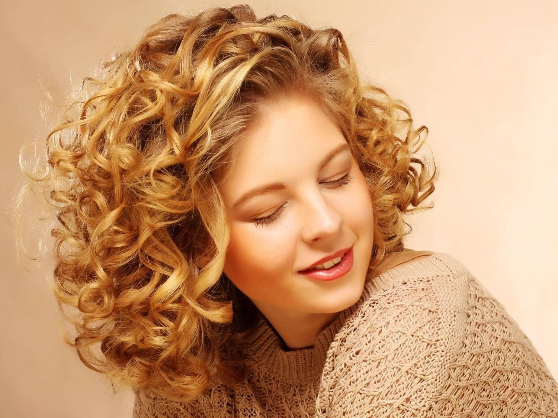 Долговременная завивка волос на короткие, средние и длинные волосы, фото и отзывы