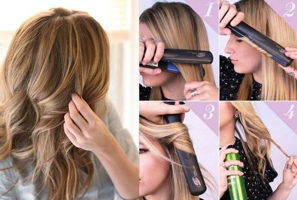Локоны утюжком на длинные волосы (33 фото): как сделать кудри самой себе выпрямителем? как накрутить красивые волны в домашних условиях?
