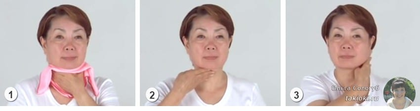 Японский массаж лица и шеи от морщин - стань на 10 лет моложе
