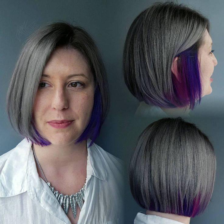 Как выбрать цвет и вид окрашивания в стиле омбре на темные волосы средней длины — полезные советы и фото